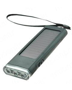 Solar Charger Flashlight Radio Backup Battery Power Lighting Play Charger for phone/MP3/MP4