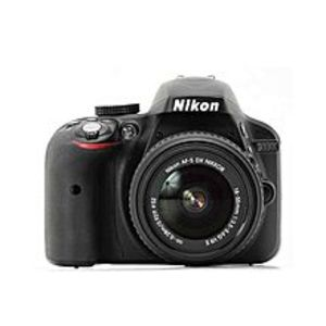 Nikon D3300 - 24.2 MP - 3.0x - DSLR Camera + 18-55mm Lens - Black