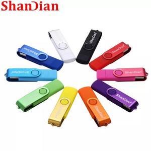 SHANDIAN USB flash drive OTG high Speed drive 128GB external storage double Application Micro USB Stick