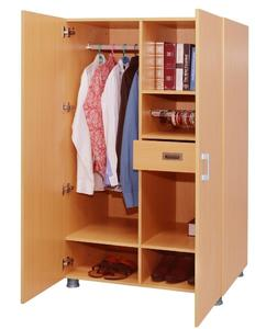 Laminated Wardrobe - Brown