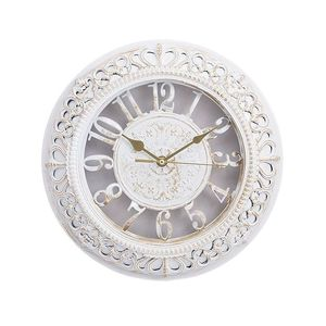 Asaan Buy Gold Shaded Antique Wall Clock - 12x12 - White