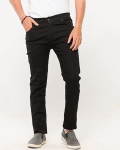 Mr khan Cotton Jeans Black For Men