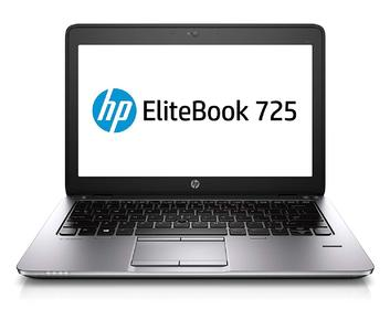 "HP EliteBook 725 G2 AMD Pro A8-7150B - 1.9GHz - 128GB SSD - 8GB Ram - 12.5"" (1600x900) - WIN10 Pro - (Refurbished)"