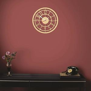 Wooden clock / wall clock / Laser cutting MDF material / Antique wall clock 108