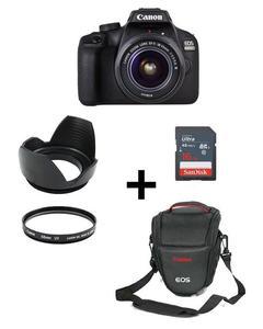 Pack Of 6-EOS 4000D With 18-55mm,16GB,V Bag,Lens Hood,Lens Filter