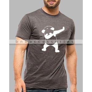 Dancing Panda Charcoal T-shirt