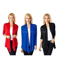 Pack of 3 - Multicolour Cotton Shrugs for Women
