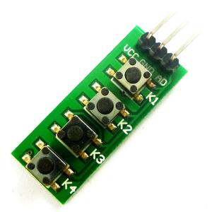 Arduino keypad 4 Button Key Module Switch Keyboard for UNO MEGA2560 Breadboard
