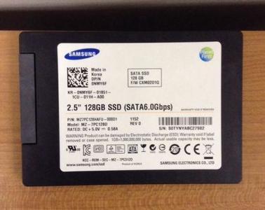 128gb ssd samsung 6gbps sata 2.5