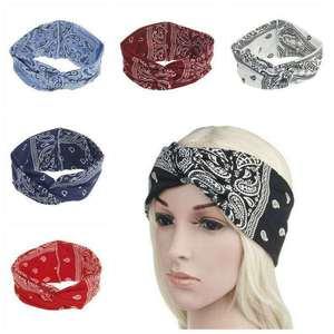 Pack of 6 - Printed Headband/Bandana