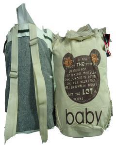 Ladies Jeans Backpack - Green