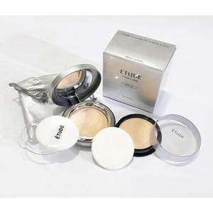Etude Twin Cake Face Powder Foundation Base With Refill Pack - sjc1