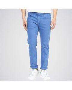 Mr khan Men Cotton Jeans Blue
