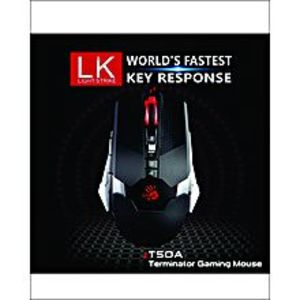 A4TECH Bloody T50 4000 DPI Mouse - Black