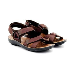 Bata Brown Sandals & Slippers for Men