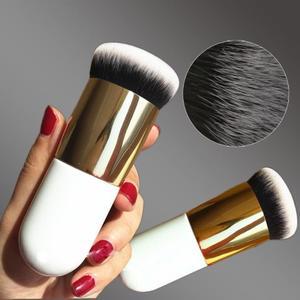 Flat Makeup Brush Foundation Face Blush Concealer Contour