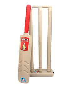 Pack of 2 - Cricket Bat & Wicket Set