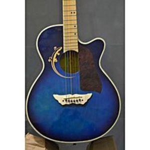 "Apple GuitarAcoustic Guitar FREE ZONE Brand- 40"""