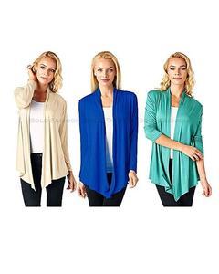 Pack of 3 - Multicolour Cotton Shrugs for Women
