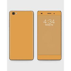 Huawei Honor P8 Lite (2015) Skin Wrap in Brown Color - 1wall17