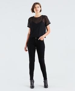 Levi's 711 Skinny Soft Black Jeans Women 18881-0049