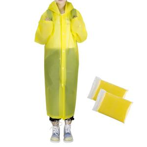 Impermeable Women/Men Long Raincoat Female Windbreaker Transparent  Waterproof  Rain Coat.