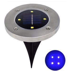 Lawn Lamp NEW Street Light Solar Powered Lighting Supply Round