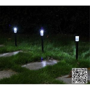 2Pcs High Quality Waterproof Solar Lamps Garden Lawn lightings