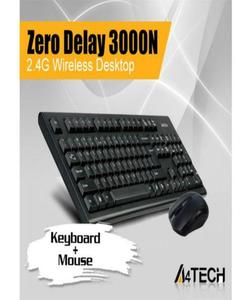 2.4G VTrack USB Mouse and Wireless Keyboard (3000N) Combo