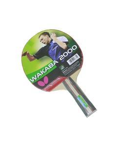 Wakaba 2000 - Table Tennis Racket - Red & Black