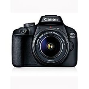 CANONEos 3000D Dslr Camera With Ef-S 18-55Mm F/3.5-5.6 Is Ii Lens- Black