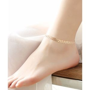 SK Golden - Arrow Anklet Chain Jewelry For Women