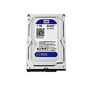 WDBlue 1TB Desktop Hard Disk Drive - SATA 6 Gb/s 64MB Cache 3.5 Inch - WD10EZRZ