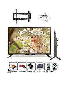 24Inch J17 - UHD LED TV with Built-in Sound bar 24'' - Black