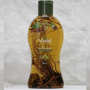 Vivid Premium Herbal Hair Oil Olive and Almond 200 ml