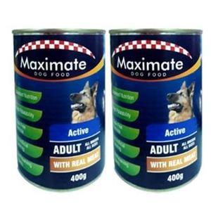 MAXIMATE DOG FOOD CANNED 400GRAMS