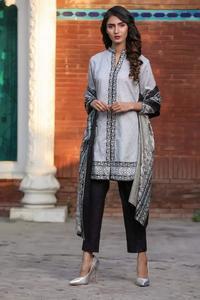 Ladies Unstitched Lawn Mid Summer Dress 3-Pcs Suit for Women Rangreza By ZS Textile