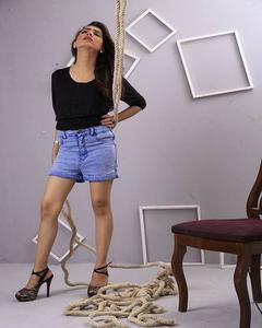 Sky Blue Denim Jeans For Women