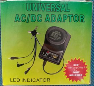 AC DC Adapter 300mah 1.5v-12v 9w Universal