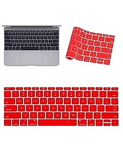 MacBook Laptop Keyboard Protector (Pattern 2) - Red