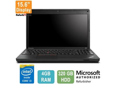 "Lenovo ThinkPad Edge E530, 15.6"" Display, Intel Core i3, 4GB RAM, 320GB HDD"