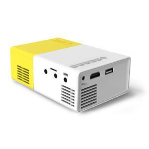 Loveliness YG-300 Mini Cinema Home Theatre Projector 1080P Portable Multimedia LCD HDMI USB EU PLug