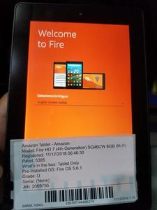 Amazon Kindle Fire HD7 SQ46CW 4th Gen