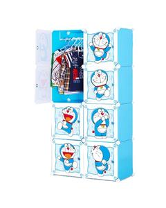 8 Cubic Hanging & Storage Cabinet & Wardrobe - Doraemon