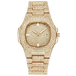 GIORGIO LUXUS 18KT Gold Plated Watch