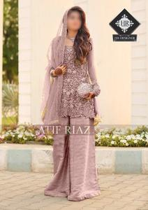 ATIF RIAZ LUXURY BRIDAL COLLECTION, Unstitched Dress, BRIDAL Dresses, Latest Design BRIDAL Dress, New Design BRIDAL Dress, 2019 Latest Design BRIDAL Dress