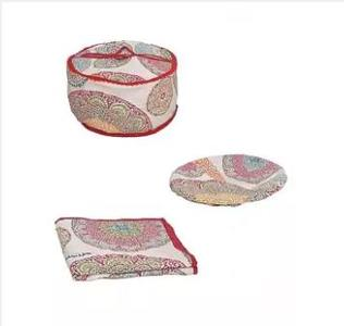 Bread / Roti Storage Basket Set - Multi Designs