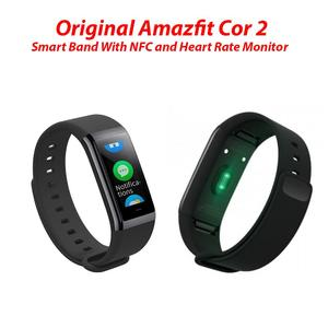 Original Amazfit Cor 2/ Amazfit Cor (Global Version) Smart Band With NFC and Heart Rate Monitor Black