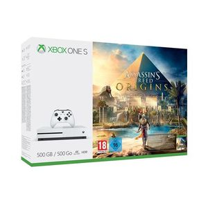 Xbox One S 500GB Console - Assassins Creed Origins Bundle - Xbox One