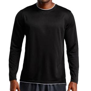 Rainbowroom 2019 Men's Sport Long Sleeves Absorption Sweat Breathability Fast Drying Fitness Tops